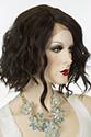 Peagan LF Medium Lace Front Wavy Straight Blonde Brunette Red Wigs