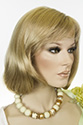 Topaz Medium Straight Blonde Brunette Red Wigs