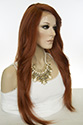 Prudence LF Long Lace Front Heat Friendly Straight Blonde Brunette Red Grey Wigs