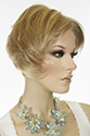 Naples C&S Short Lace Front Monofilament Hand Tied Aspen Straight Blonde Brunette Red Wigs