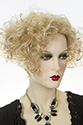 Jazz By Aspen Medium Short Aspen Wavy Curly Blonde Brunette Red Wigs
