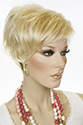 Iris Short Pixie Straight Blonde Brunette Red Wigs