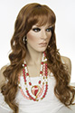 Olivia E Long Skin Top Wavy Blonde Brunette Red Wigs