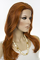 Linda S Long Medium Skin Top Wavy Blonde Brunette Red Wigs