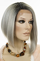 Virginia LF Medium Short Lace Front Straight Blonde Brunette Red Fun Color Wigs