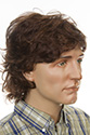 Jackie By Jon Renau Long Medium Jon Renau Wavy Blonde Brunette Red Grey Men Wig