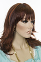 Greta Medium Straight Blonde Brunette Red Wigs
