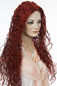 Godess Long Skin Top Wavy Curly Blonde Brunette Red Grey Wigs