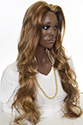 Natalie XXL Long Skin Top Wavy Straight Blonde Brunette Red Grey Wigs