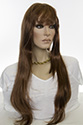 Alicia XXL Long Skin Top Wavy Straight Blonde Brunette Red Grey Wigs