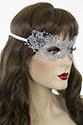 Mask 50 Shades Darker Medium Wavy Brunette Costume Accessories