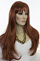Marisa E Long Skin Top Wavy Straight Blonde Brunette Red Grey Wigs