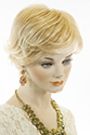 Meg By Jon Renau Short Double Mono Hand Tied Jon Renau Wavy Blonde Brunette Red Wigs