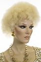 Mini Afro WB Medium Short Curly Blonde Brunette Red Wigs Men Wig