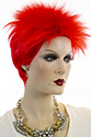 RIDDLER Short Red Costume Fun Color Wigs