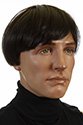 BEATLES Short Straight Brunette Costume Wigs