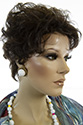Petite Effie Short Petite Wavy Curly Blonde Brunette Red Grey Wigs