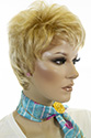 SHIRLEY Short Pixie Wavy Straight Blonde Brunette Red Grey Wigs