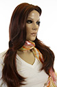 Nicole Long Skin Top Straight Brunette Wigs