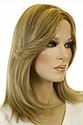 Margot Medium Premium Remy Human Hair Lace Front Light Weight Monofilament Hand Tied Jon Renau Wavy Blonde Brunette Red Wigs