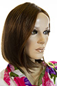 Luna LF Medium Lace Front Light Weight Monofilament Hand Tied Straight Blonde Brunette Red Wigs