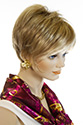 Rose * Short Lace Front Monofilament Hand Tied Jon Renau Straight Blonde Brunette Red Wigs